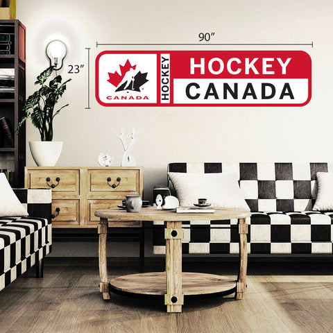 Team Canada 90x23 Repositional Wall Decal - Design 56