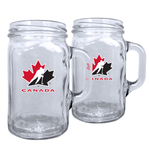 Team Canada 16oz Mason Mug Set
