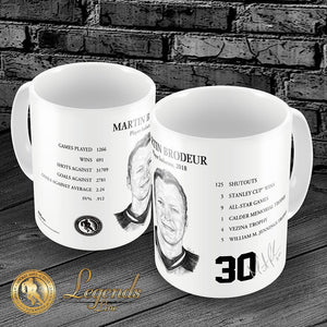 2018 Martin Brodeur - NHL Legends 15oz Ceramic Mug