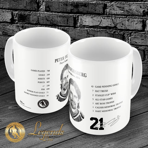 2014 Peter Forsberg - NHL Legends 15oz Ceramic Mug