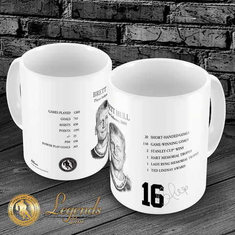 2009 Brett Hull - NHL Legends 15oz Ceramic Mug