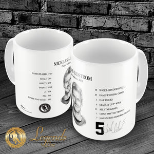 2015 Nicklas Lidstrom - NHL Legends 15oz Ceramic Mug