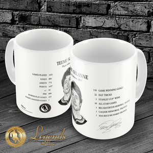 2017 Teemu Selanne - NHL Legends 15oz Ceramic Mug