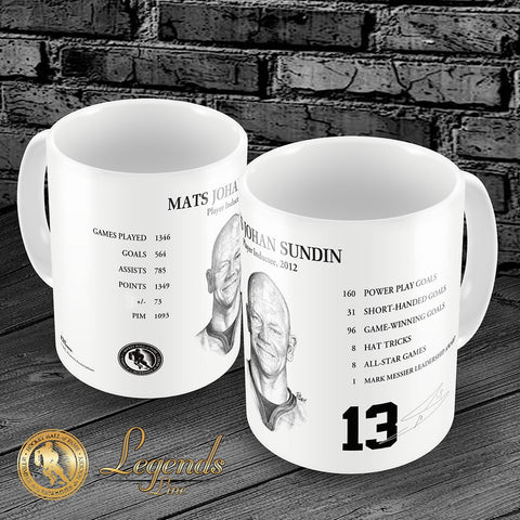 2012 Mats Sundin - NHL Legends 15oz Ceramic Mug