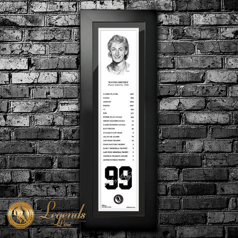 1999 Wayne Gretzky - NHL Legends  6x22 Frame