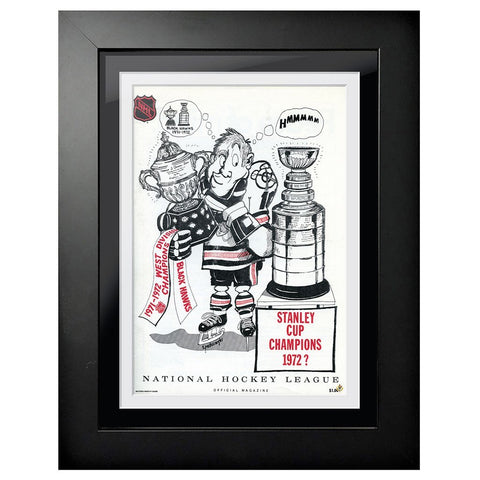 Chicago Blackhawks Program Cover - Stanley Cup Champs Hmmm