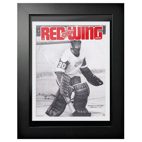 Detroit Red Wings Program Cover - Red Wing Magazine