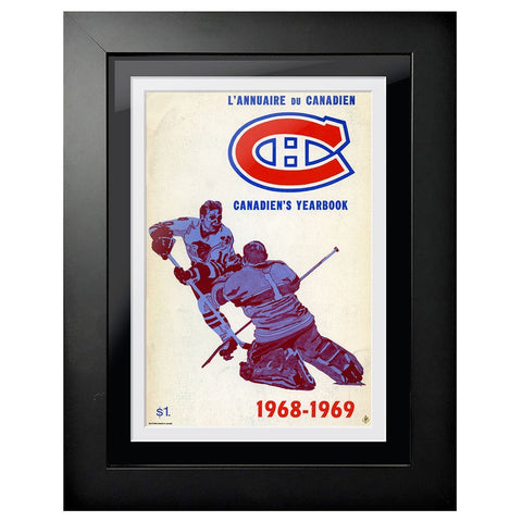 Montreal Canadiens Program Cover - 1968 Yearbook Cover