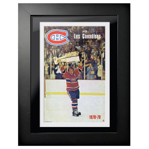 Montreal Canadiens Program Cover - Les Canadiens 1978-79 Stanley Cup Hoist