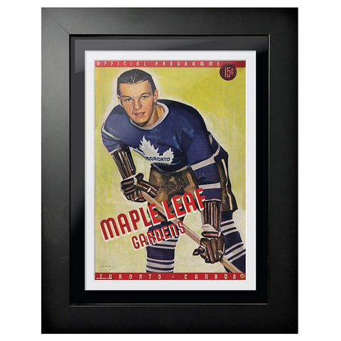 Toronto Maple Leafs Program Cover - Maple Leaf Gardens Toronto Canada Edition