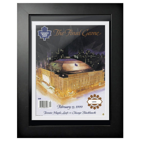 Toronto Maple Leafs Program Cover - Maple Leaf Gardens Final Game 1999