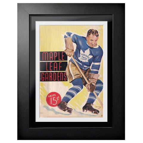 Toronto Maple Leafs Program Cover - Fast Stop