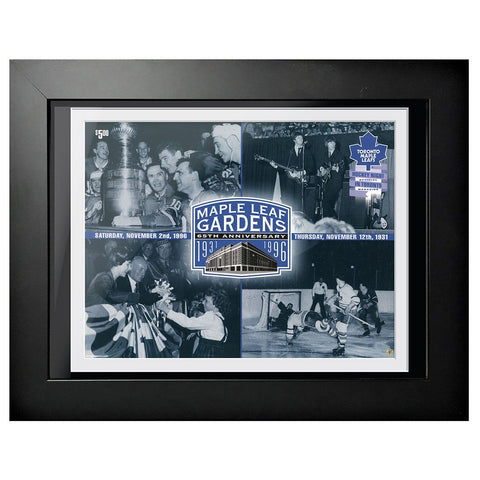 Toronto Maple Leafs Program Cover - Maple Leaf Gardens 65th Anniversary 1931-1996