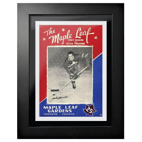 Toronto Maple Leafs Program Cover - The Maple Leaf Bill Barilko Edition 1