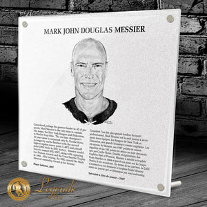 2007 Mark Messier - NHL Legends Plaque