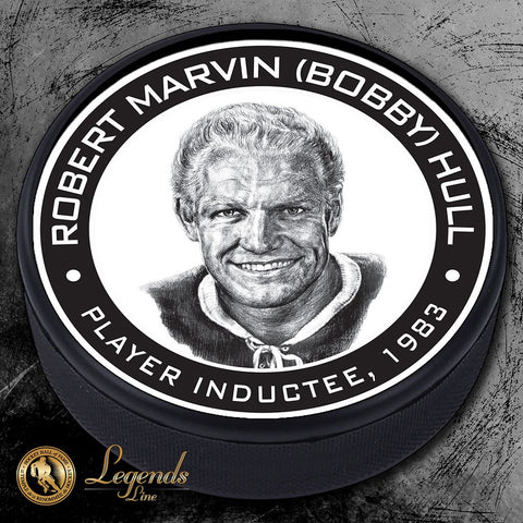 1983 Bobby Hull - NHL Legends Textured Puck