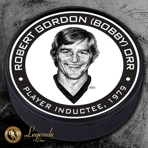 1979 Bobby Orr - NHL Legends Textured Puck