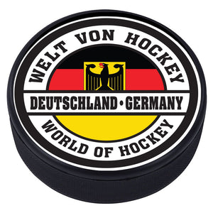World of Hockey Textured Puck - Germany
