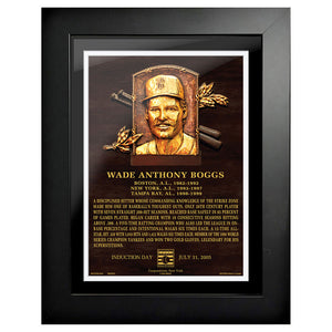 "Wade Boggs Legend 12""x16"" Framed Art Boston Red Sox"