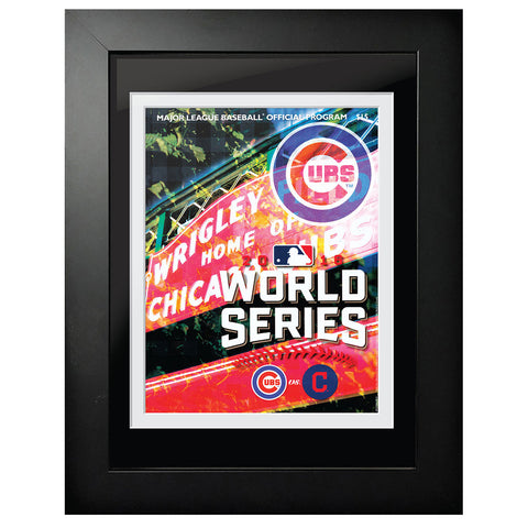 Chicago Cubs vs. Cleveland Indians World Series Program Cover 2016