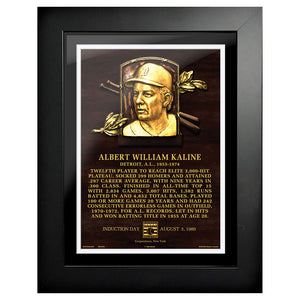 "Al Kaline Legend 12""x16"" Framed Art Detroit Tigers"