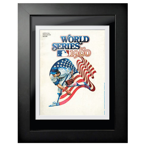 Philadelphia Phillies World Series Program Cover 1980