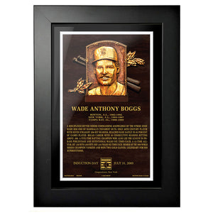 "Wade Boggs Legend 8""x10"" Framed Art Boston Red Sox"