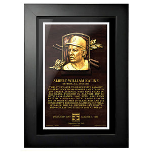"Al Kaline Legend 8""x10"" Framed Art Detroit Tigers"