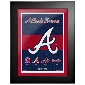 Atlanta Braves - 12x16 Tradition Framed Artwork