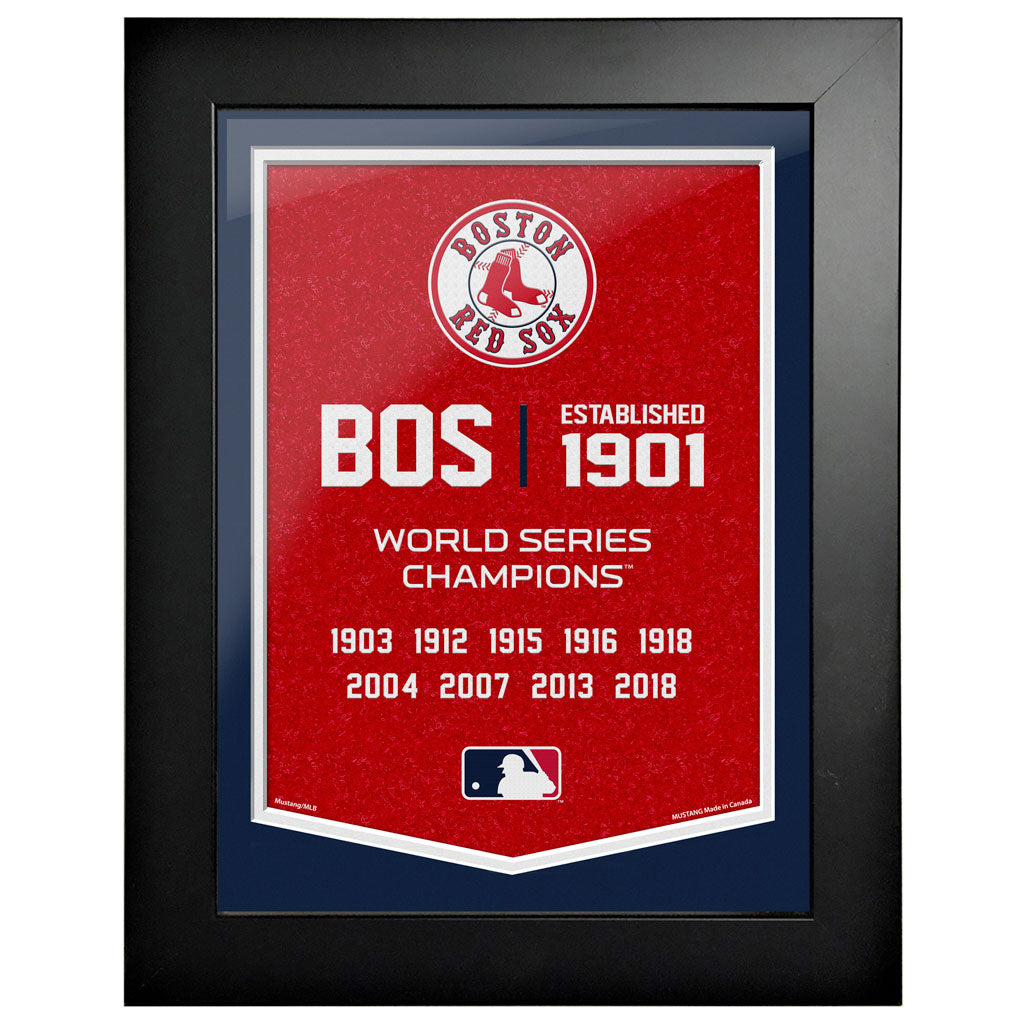 Boston Red Sox - 12x16 Framed Artwork- Empire