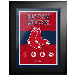 Boston Red Sox - 12x16 Tradition Framed Artwork