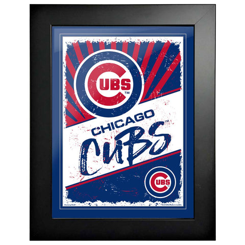 Chicago Cubs 12x16 Classic Framed Artwork