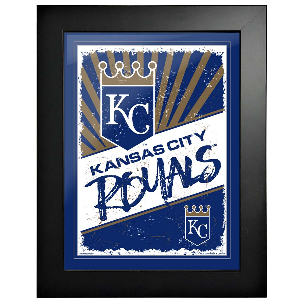 Kansas City Royals 12x16 Classic Framed Artwork