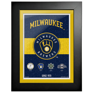 Milwaukee Brewers - 12x16 Tradition Framed Artwork