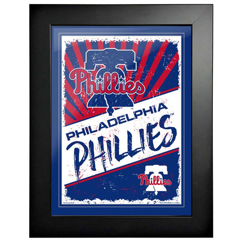 Philadelphia Phillies 12x16 Classic Framed Artwork