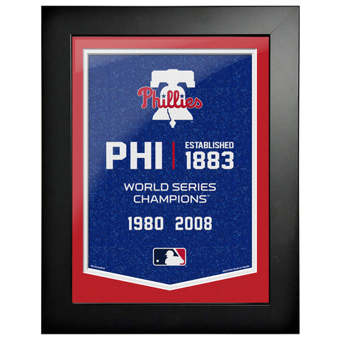 Philadelphia Phillies - 12x16 Framed Artwork- Empire