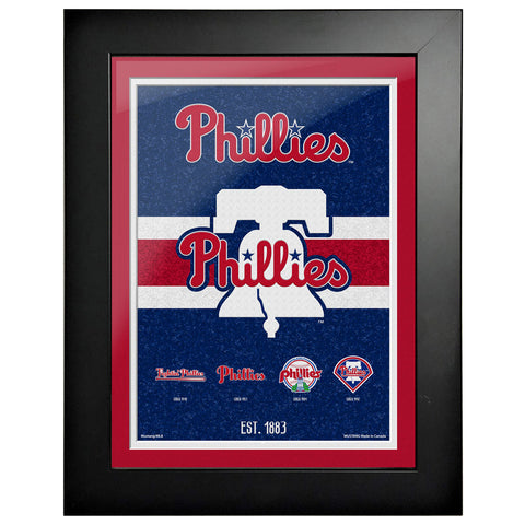 Philadelphia Phillies - 12x16 Tradition Framed Artwork