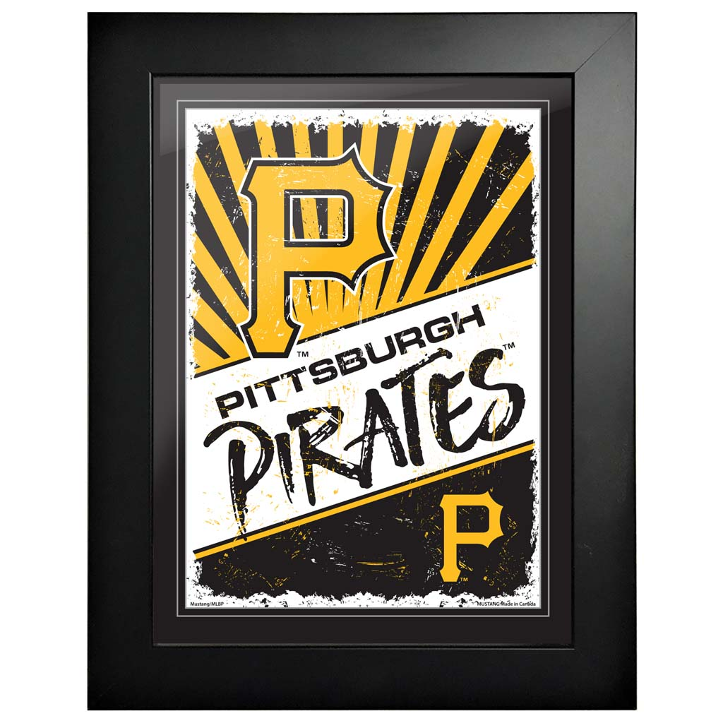 Pittsburgh Pirates 12x16 Classic Framed Artwork