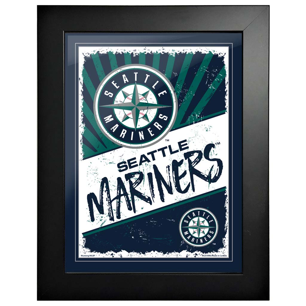 Seattle Mariners 12x16 Classic Framed Artwork