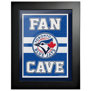 Toronto Blue Jays 12x16 Fan Cave Framed Artwork