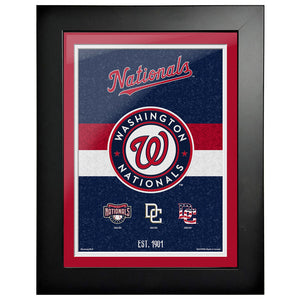 Washington Nationals - 12x16 Tradition Framed Artwork