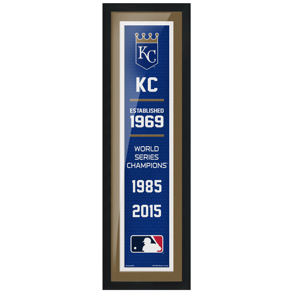 Kansas City Royals - 6X22 Framed Artwork- Empire