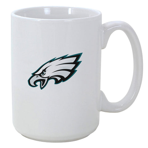 Philadelphia Eagles El Grande White Ceramic Mug