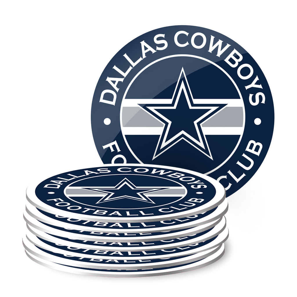 Dallas Cowboys Eight Pack Coaster Set