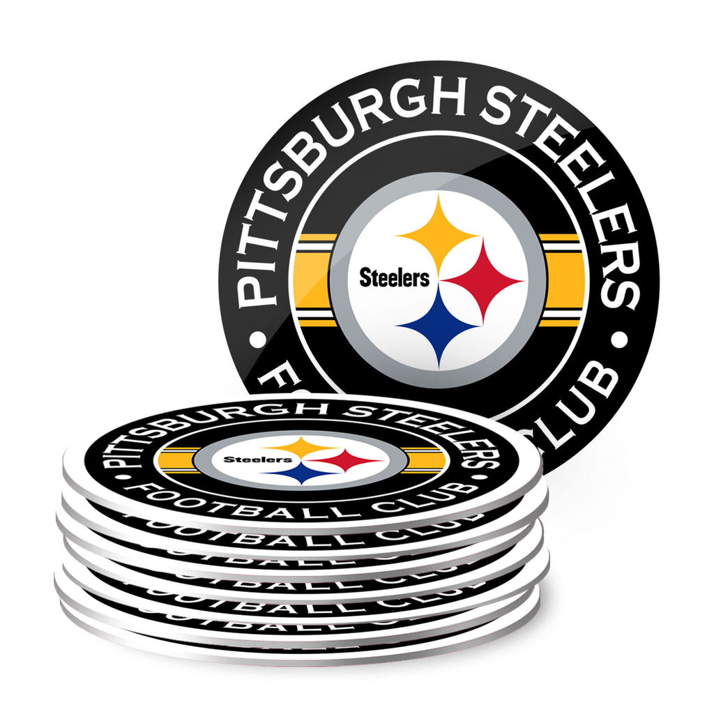 Pittsburgh Steelers Eight Pack Coaster Set