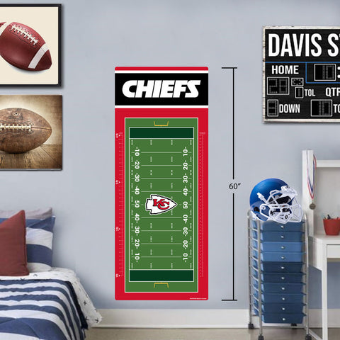 Kanas City Chiefs 24x60 Field Growth Chart
