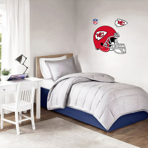 Kanas City Chiefs 36x36 Team Helmet Repositional Wall Decal