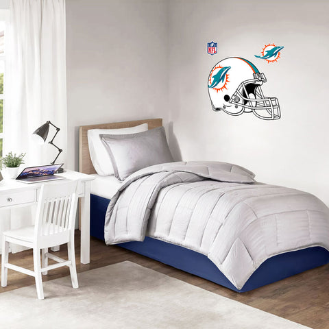 Miami Dolphins 36x36 Team Helmet Repositional Wall Decal