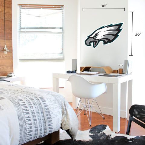 Philadelphia Eagles 36x36 Team Logo Repositional Wall Decal