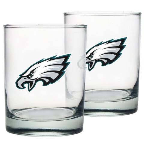 Philadelphia Eagles Rocks Glass Set